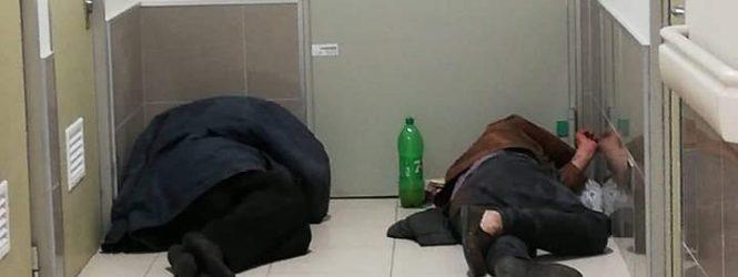 Usuarios denuncian a personas que duermen en hospital de Porvenir durante la noche
