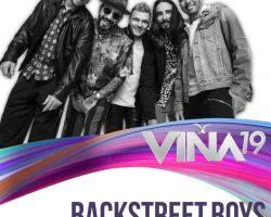 En nuestra edición número 60, reviviremos un hito de todos los tiempos en el Festival: Porque #Viña2019 lo merece, los históricos están de vuelta… Bienvenidos @backstreetboys!!!