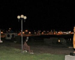Paseo de la Costanera de Porvenir volvió a quedar sin luz por Avenida Señoret