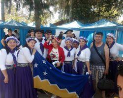 "Grupo Folclórico Porvenireño ""ORO FUEGUINO"" se presenta hoy en Maipu Santiago"