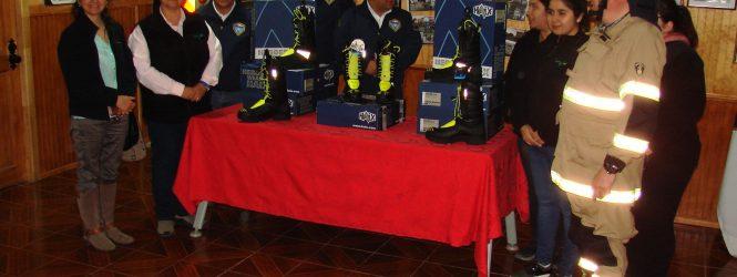 EMPRESA BAKKAVOR CHILE S.A, NUEVAMENTE CONCRETA DONACIÓN A BOMBEROS DE PORVENIR