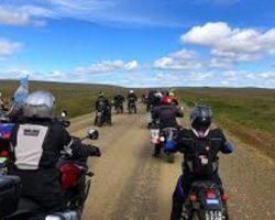 """""""Punta a Punta TDF 2019"""" raid en Moto por la Tierra del Fuego chilena y argentina"""