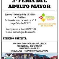 INVITACIÓN A LA COMUNIDAD A LA SEGUNDA FERIA DEL ADULTO MAYOR