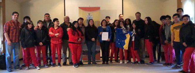 Municipalidad de Porvenir firma convenio de colaboración con el club deportivo Magallanes