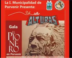 Asociación cultural conjunto folklorico Kutralihue invitan a toda la comunidad fueguina a presenciar la obra musical El Pionero
