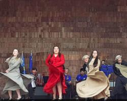Semillero del conjunto Kütralihue se lució con aplaudidas actuaciones en Chiloé