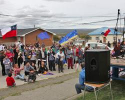 Acto cultural por un Nuevo Chile