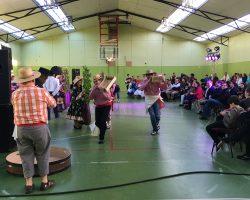 Se realizó el Primer encuentro folclórico del adulto mayor en Tierra del Fuego