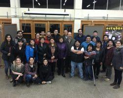 Habitantes de la comuna de Primavera en Tierra del Fuego realizaron un cabildo convocado por el Alcalde Blagomir Bristilo