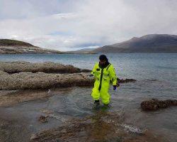 Científicos chilenos y mexicanos estudian estromatolitos en Magallanes para observar efectos del cambio climático