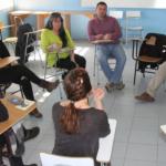 En la sede del Centro Universitario Porvenir de la Umag se realizaron los conversatorios, con más de tres horas de análisis y debate